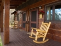 The Porch of the Guest Cabins