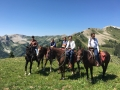 Horseback Riding from Sanchester Ridge in Marble, Colorado