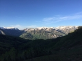 Hiking on Snowmass-Marroon Bells Wilderness from Sanchester Ridge