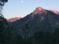 Moonrise over White House Mountain from the Lodge