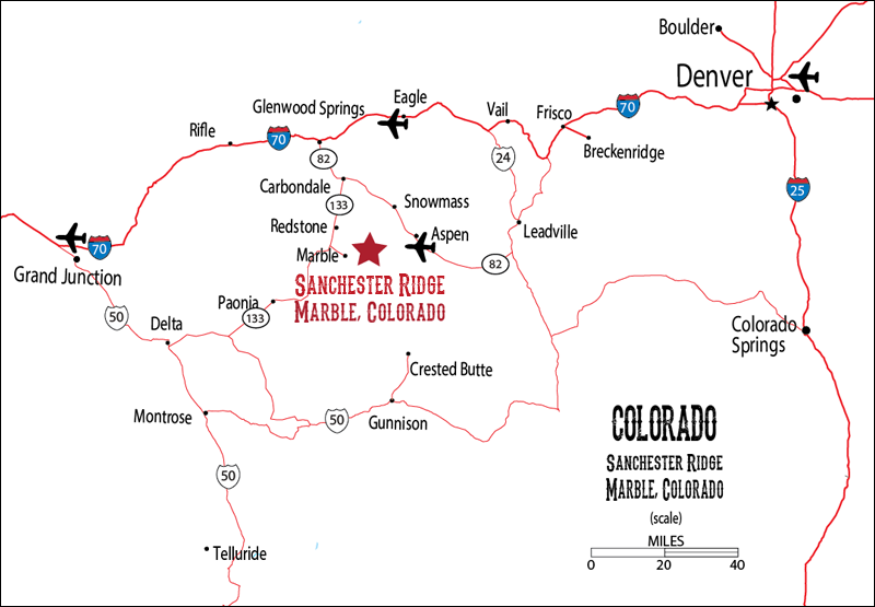 Marble Colorado Map Time Zone Map